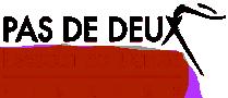 Pas de Deux Logo